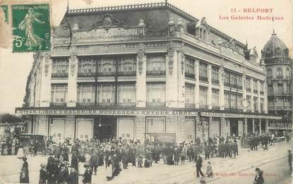 "CPA FRANCE 90 "" Belfort, Les Galeries Modernes""."