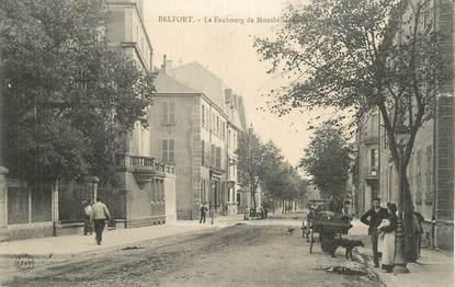 """CPA FRANCE 90 """" Belfort, Le Faubourg de Montbéliard""""."""