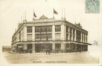 """CPSM FRANCE 90 """" Belfort, Galeries Modernes""""."""