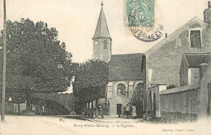 "CPA FRANCE 91 "" Evry-Petit Bourg, L'église"""