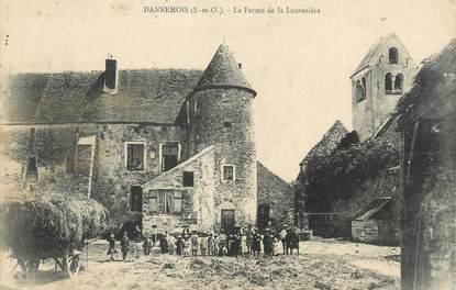 """CPA FRANCE 91 """" Dannemois, La ferme de la Louvetière""""."""