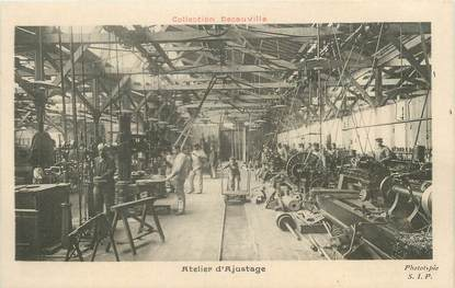 """CPA FRANCE 91 """"Corbeil, Atelier d'ajustage"""". /DECAUVILLE"""