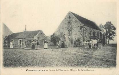 """CPA FRANCE 91 """"Courcouronnes, Restes de l'ancienne Abbaye St Guenault""""."""