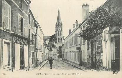 """CPA FRANCE 91 """"Etampes, Rue de la Cordonnerie"""""""