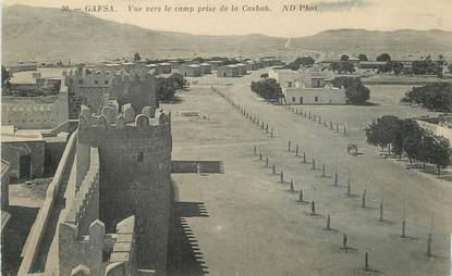 """CPA TUNISIE """"Gafsa, le camp"""""""