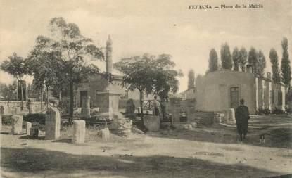 "CPA TUNISIE ""Feriana, place de la Mairie"""