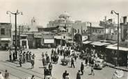 """Tunisie CPSM TUNISIE """"Tunis, Place Ban Souika"""""""