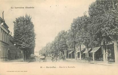 """CPA FRANCE 55 """"Bar le Duc, Rue de la Rochelle"""""""