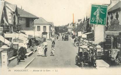"""CPA  FRANCE 44 """"Pornichet, Avenue de la gare"""""""