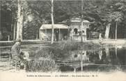 """91 Essonne CPA FRANCE 91 """"Orsay, Un coin du lac""""./ PECHE"""