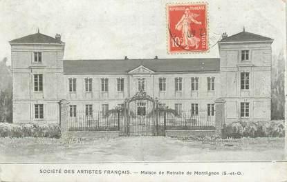 """CPA FRANCE 91 """"Montlignon, Maison de retraite""""."""