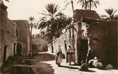 """CPSM ALGERIE """"Biskra, une vieille rue"""""""