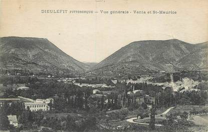 """.CPA FRANCE 26 """"Dieulefit, Vue générale""""."""