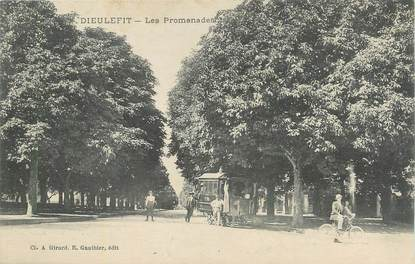 """.CPA FRANCE 26 """"Dieulefit, Les promenades""""."""