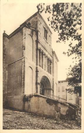 """.CPA FRANCE 26 """"Dieulefit, L'église""""."""