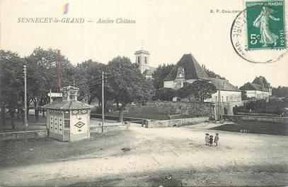 """CPA FRANCE 71 """"Sennecey le Grand, Ancien Château""""."""