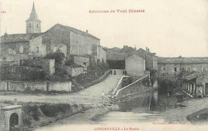 """CPA FRANCE 54 """" Gondreville, Le Moulin""""."""