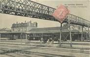"""54 Meurthe Et Moselle CPA FRANCE 54 """" Luneville, La gare, la passerelle""""."""