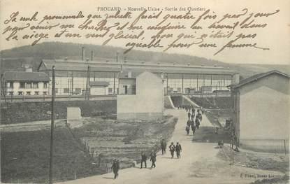 """CPA FRANCE 54 """" Frouard, Nouvelle usine, sortie des ouvriers""""."""