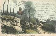 """45 Loiret CPA FRANCE 45 """" Pithiviers, Route de Bondaroy""""."""
