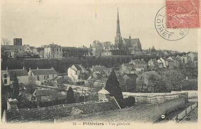 """CPA FRANCE 45 """" Pithiviers, Vue générale""""."""