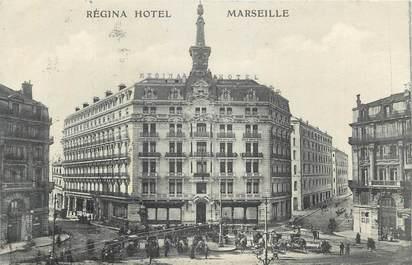 """CPA FRANCE 13 """" Marseille, Le Régina Hôtel""""."""