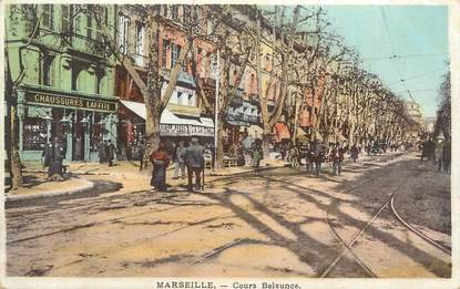 """CPA FRANCE 13 """" Marseille, Cours Belsunce""""."""