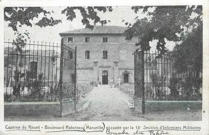 """CPA FRANCE 13 """" Marseille, Caserne du Rouet Boulevard Rabateau""""."""