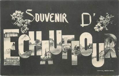 """CPA FRANCE 61 """" Echauffour, Vues""""."""