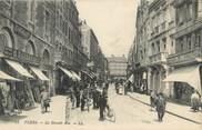 """61 Orne CPA FRANCE 61 """"Flers, La Grande Rue""""."""