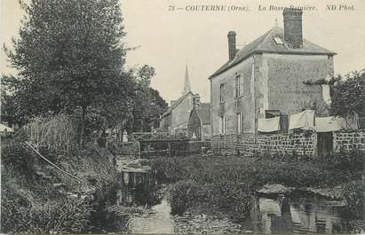 """CPA FRANCE 61 """"Couterne, La Basse Reinière""""."""