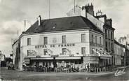 """91 Essonne CPSM FRANCE 91 """"Angerville, Hôtel de France""""."""