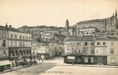 """CPA FRANCE 55 """"Bar le Duc, Place Reggio et la ville Haute"""""""