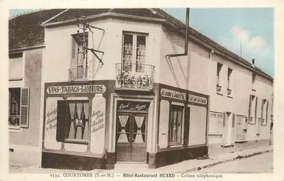 "CPA FRANCE 77 "" Courtomer, Hôtel restaurant Huard""."