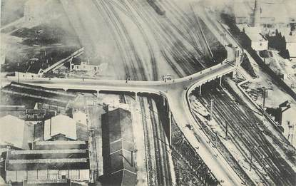 """CPA FRANCE 60 """"Creil, Le pont""""."""