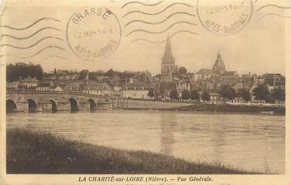 """CPA FRANCE 58 """" La Charité sur Loire, Vue générale""""."""
