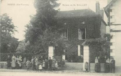 "CPA FRANCE 87 "" Nouie, Maison de Mr Mallet""."