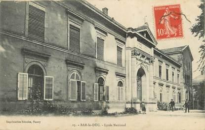 """CPA FRANCE 55 """"Bar le Duc, Lycée National"""""""