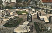 """70 Haute SaÔne CPSM FRANCE 70 """" Luxeuil les Bains, Le golf miniature du Grand Hôtel des Sources""""."""