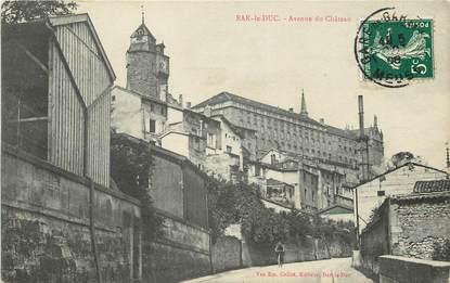 "CPA FRANCE 55 ""Bar le Duc, avenue du Château"""