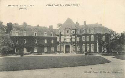"""CPA FRANCE 85 """" Chavagnnes en Paillers, Château de la Chardière""""."""