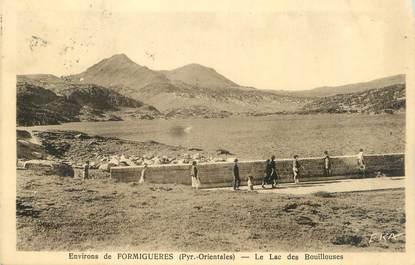 """CPA FRANCE 66 """" Environs de Formiguères, Le lac des Bouillouses""""."""