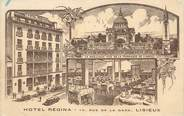 """14 Calvado CPA FRANCE 14 """" Lisieux, Hôtel Régina""""."""