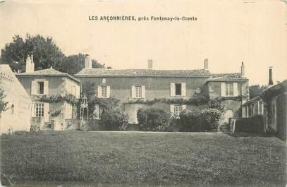 """CPA FRANCE 85 """" Près de Fontenay le Comte, Les Arçonnières""""."""