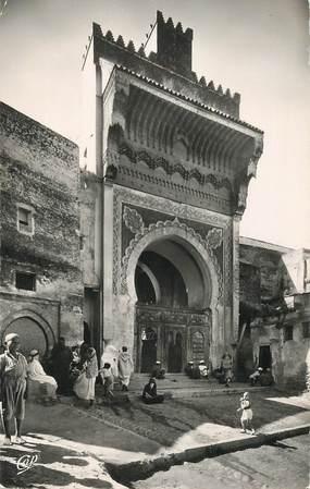 """CPSM MAROC """"Fès, La Porte de la Mosquée des Andalous"""""""
