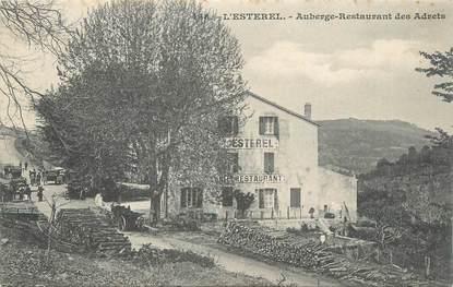 """CPA FRANCE 83 """" L'Estérel, Auberge Restaurant des Adrets""""."""