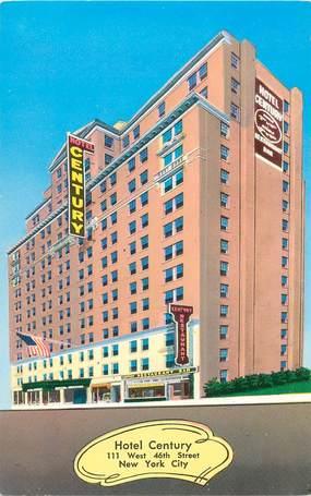 "CPSM USA ""New York City, Hotel Century"""