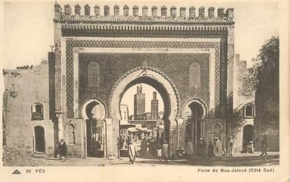 "CPA MAROC ""Fès, Porte de Bou Jeloud"""