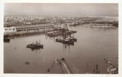 "CPSM MAROC ""Casablanca, vue sur le Port vers la Médina"""