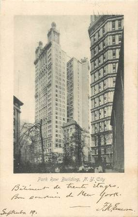 "CPA USA ""New York, Park Row Building"""